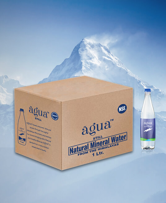 AGUA Natural Mineral Water