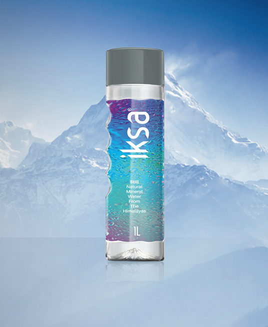 IKSA Blue Natural Mineral Water